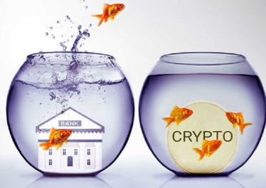 Bank and crypto