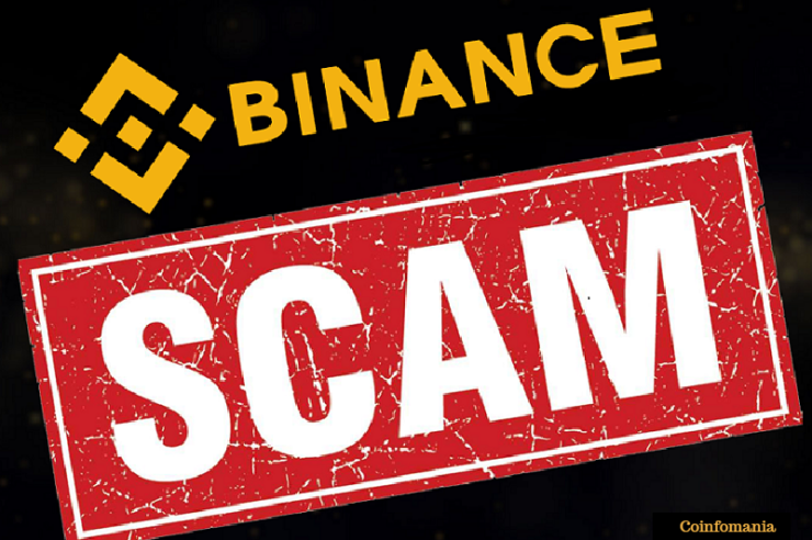 Binance eth giveaway scam