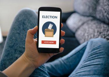 south korean blockchain election