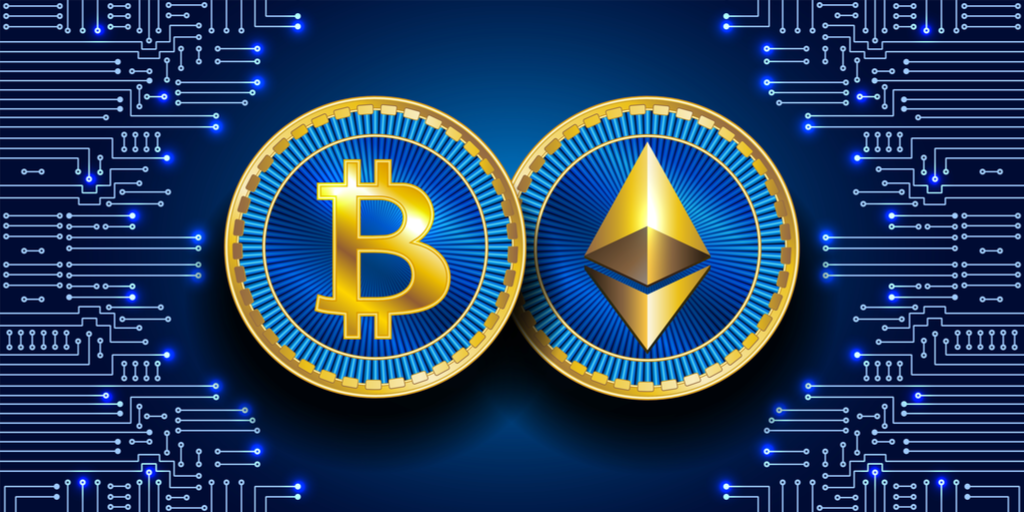 Ether Unable To Claim The $2,000 Mark As BTC Holds $34k. | Coinfomania