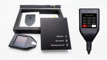Fake trezor one hardware wallet