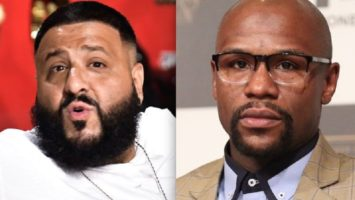 Floyd Mayweather and Dj Khaled