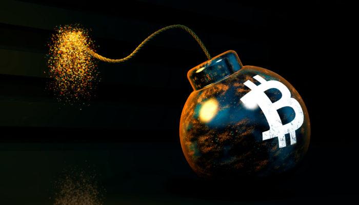 Bitcoin bomb scam threat