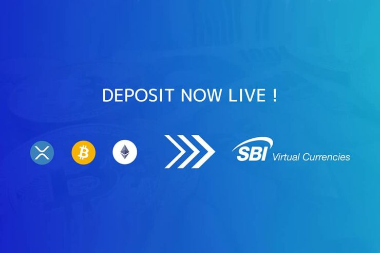 SBI's VC Trade now offers bitcoin, xrp and ETH