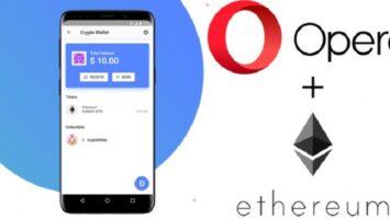 opera ethereum wallet