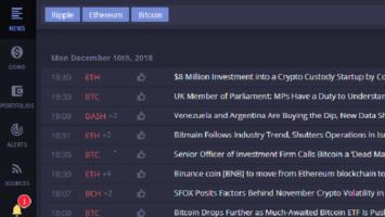 Faws crypto news aggregator
