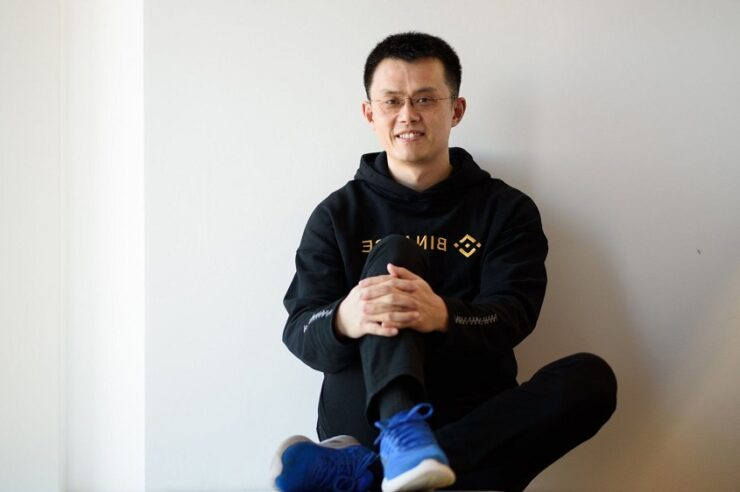 Changpeng Zhao binance CEO