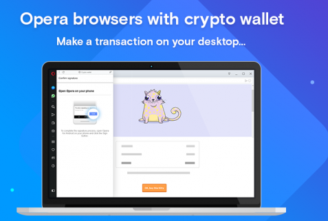 Opera desktop browser crypto