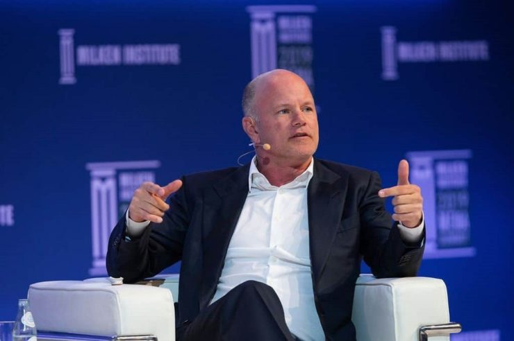 Bitcoin price Mike Novogratz