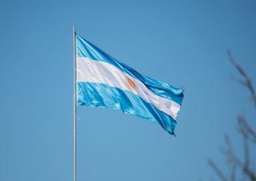 Argentina Flag $200 Bitcoin