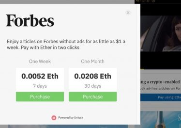 Unlock Protocol Pay With ETH on Forbes