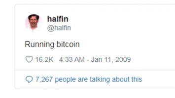 Hal Finney Running Bitcoin