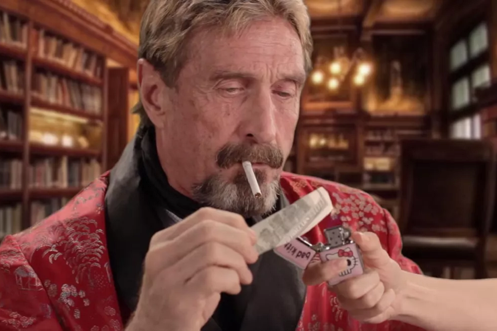 BREAKING: Crypto Proponent John McAfee Reportedly Dies in Prison