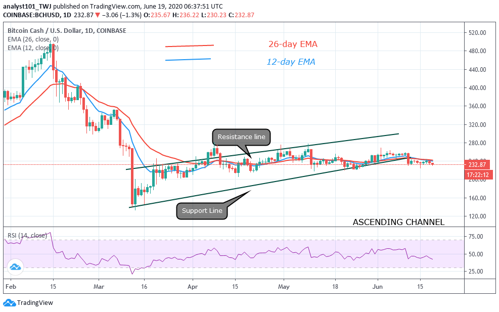 BCH, BSV, HOT, XMR, ZIL: Crypto Price Analysis June 19
