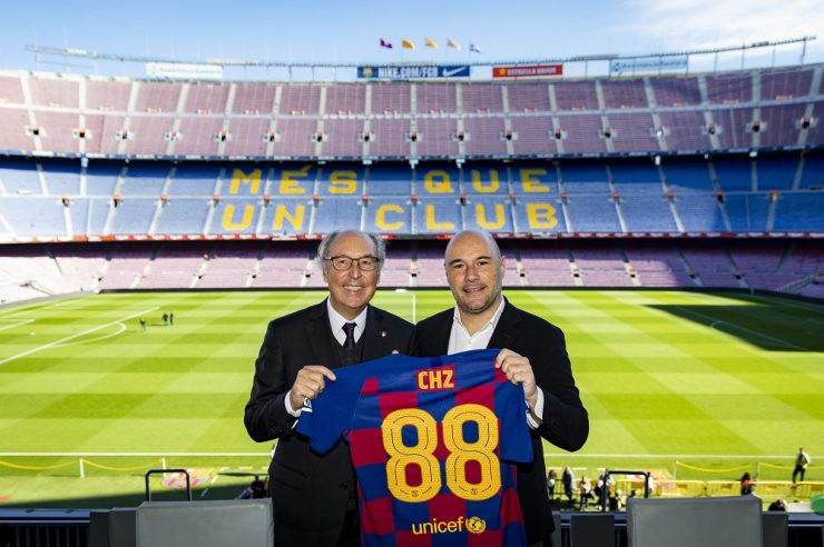 FC Barcelona Partners CHZ