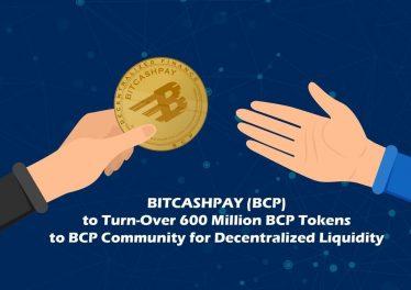 Bitcashpay 600m bcp token