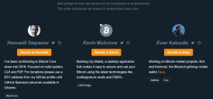 Bitcoin Devlist Sponsor Bitcoin Developers