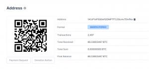 Bitcoin Satoshi Address