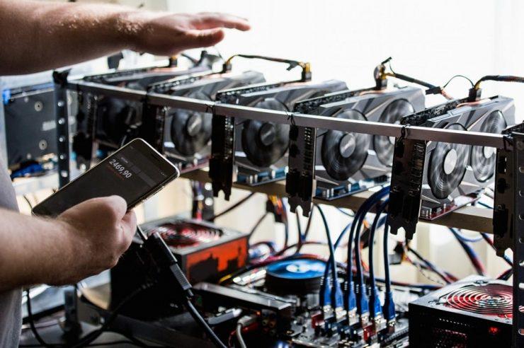 Bitcoin mining Riot blockchain