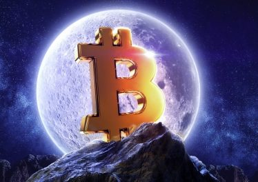 Bitcoin price moon