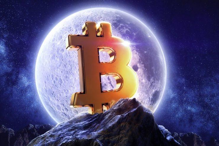 Bitcoin price moon