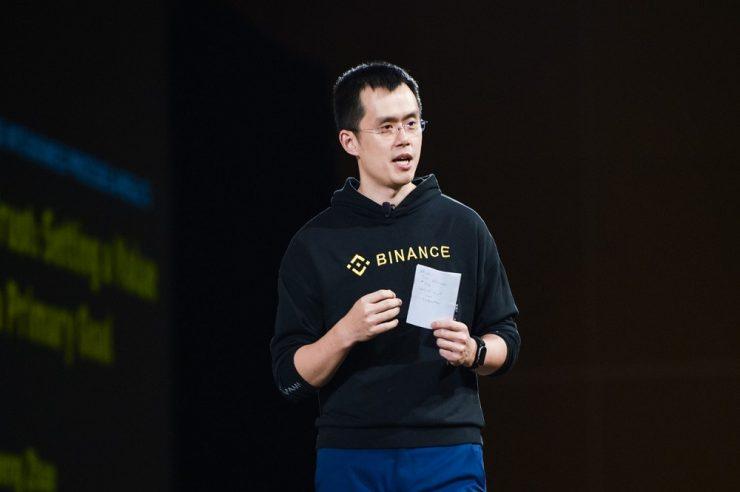 Changpeng Zhao Binance wazirX