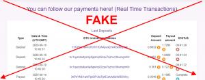 Depósitos falsos vip de Crypto Arbitrage