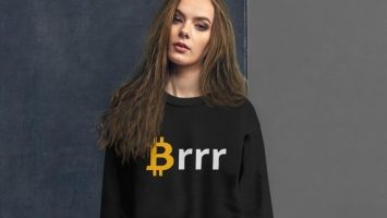 CryptoClove Brr Bitcoin apparel shirt