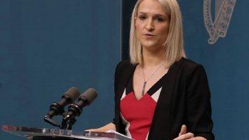 Ireland Justice Minister Helen-McEntee