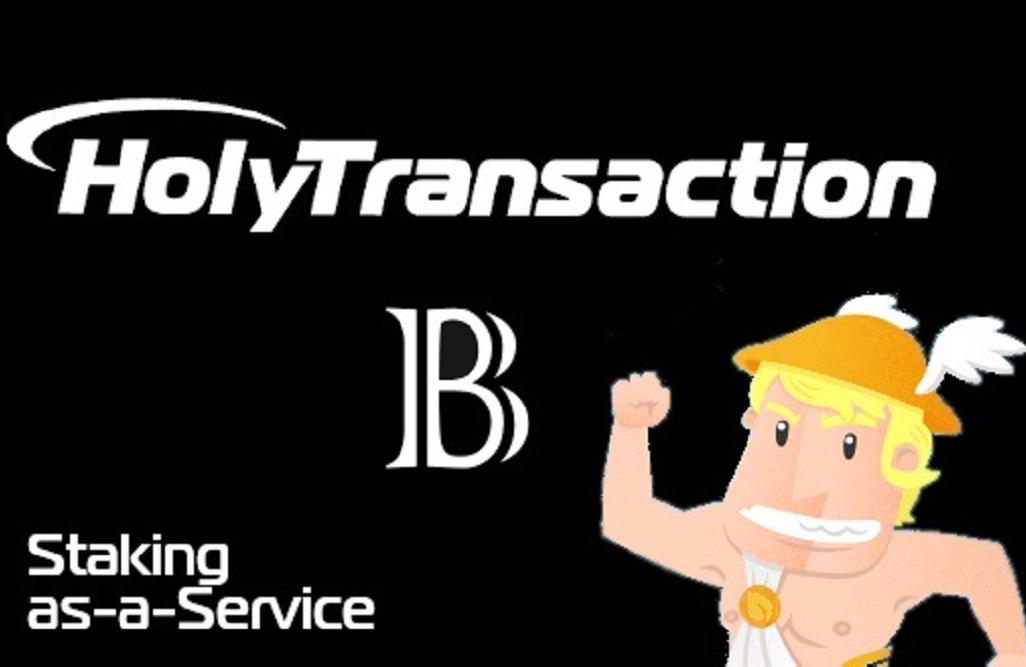 Use the HolyTransaction Wallet for Staking <bold>Blackcoin</bold>