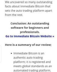 Immediate Bitcoin 2