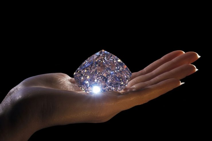 Sotheby Diamond Auction Bitcoin