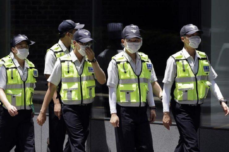 South Korea police