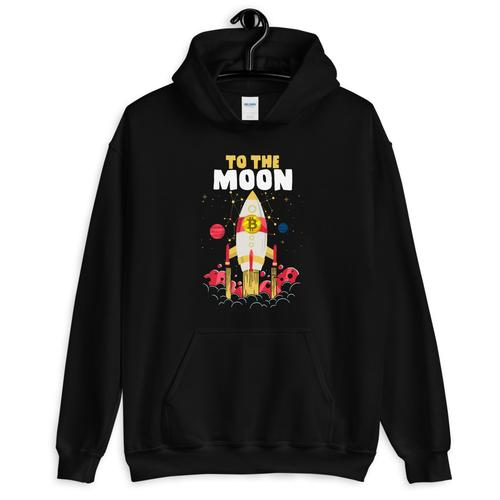 Bitcoin Rocket Sweatshirt