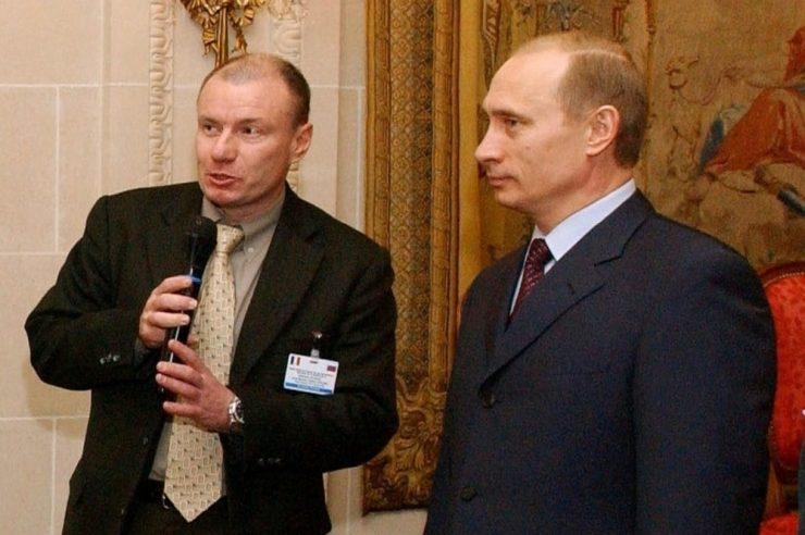 Russia Vladimir Potanin Blockchain