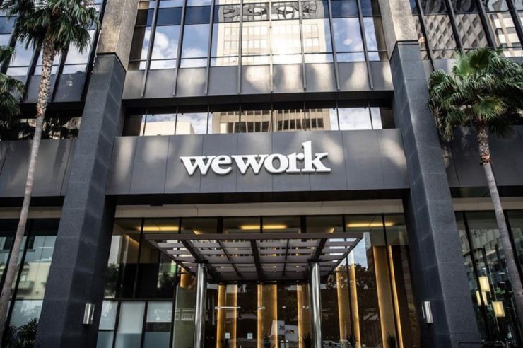 WeWork accepts bitcoin