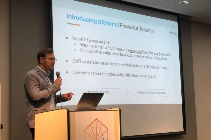 pTokens Provable Things DeFi