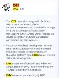 IOTA CRC rating
